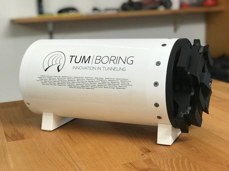 TUM Boring – Innovation in Tunneling